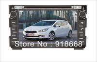 In Dash Car GPS Navigation for Kia Ceed with Multi-point Touch Screen, Radio, DVD, Bluetooth,TV,3G,WIFI