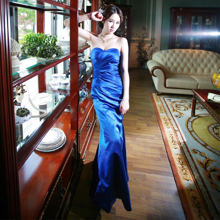 Звезда со счетом наклонных плеч тост плечо невесты замуж длинное платье. З