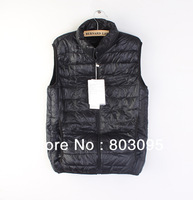 High Quality Export Men's Outdoor Duck Down Vest Winter Down Vest Ultra Light