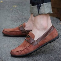 2013 summer the trend of male loafers fashion shoes casual shoes lazy breathable shoes