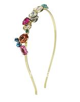 Free shipping~Imitation crystal colorful  hair band hair bands 5pcs/lot