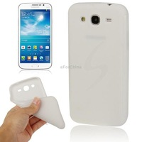 Hight Quality Anti-skid Scrub TPU Case for Samsung Galaxy Mega 5.8 i9150 i9152 White