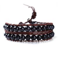 2013 fashion personalized braided leather bracelets new style wholesale