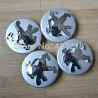 4pcs Wheel Center Hub Cap 60mm Fit Peugeot 206 207 307 407