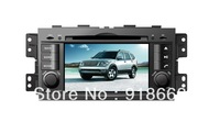 In Dash Car GPS Navigation for Kia Mohave Borrego with Multi-point Touch Screen, Radio, DVD, Bluetooth,TV,3G,WIFI