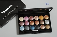 6PCS/LOT MC brand makeup 18 COLOR BEST Professional POWDER EYE SHADOW palette EYE SHADOW 32G 6 COLORS dropship free shipping