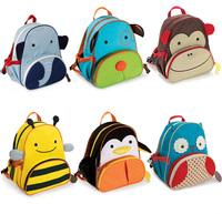 Child animal baby cartoon school backpack bag primary school backpack