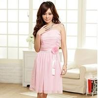 Jk2 summer one-piece dress sweet princess pressure pleated tube top bridesmaid chiffon skirt 8211
