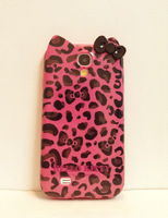 Tpu soft case leopard print  for SAMSUNG   s4 phone case i9500 9508 phone case phone case mobile phone case