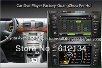 Free shipping for Car Dvd player Toyota Avensis the year befor 2008