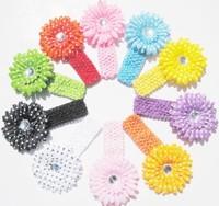 12pcs Peony Kid Baby Girl Headband Hairband Hairbow Hair Flower Clip Headwear