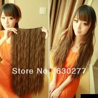 Queen Hair Products 100 human  hair Wave 100gram/pc Medium Brown Deep wave 2pcs/Lot