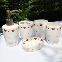 Candy honey candy sweetheart ceramic bathroom set bathroom set lovers design wedding gifts