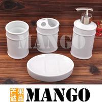 Bone china bathroom four piece set wash set bathroom supplies