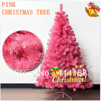 2013 free shipping 60cm PVC festival & party artificial colorful decorations Xmas trees decorative color pink christmas trees