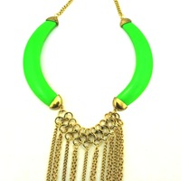 Free shipping 2013 new fashions big accessories fashion trend collar long tassel necklace statement exaggerate necklace