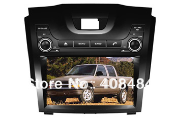 8 Inch 2DIN Car Radio Audio DVD Player GPS TV iPod Games Bluetooth For CHEVROLET S10 S-10  2012+ For Retail/Pcs Free Shipping