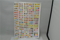 1500pcs/lot New arrival home bottom sticker for iPhone 4 4S Iphone 5 ipad  Free Shipping