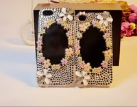 cheap sale 2013 new products case for iphone 5  The little flower Set auger free shipping