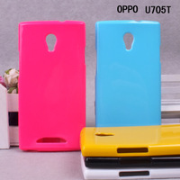 For oppo   u705t mobile phone case protective case u705t jelly sets mobile phone case tpu silica gel sets color covers