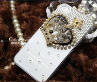 cheap sale case for iphone 5 Rhinestone Phone Case with Wizard iphone accessories wholesale  free shipping 2 free gift