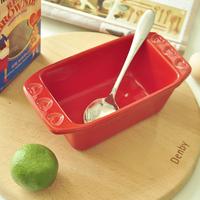 Baking rectangular Binaural basin salad bowl noodle bowl free shipping