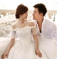 Free Shipping The Wedding Dresses 2014 Fashion Elegant High-end Bride Princess Dresses