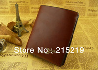 2013  manufacturers selling Leather Mens Short wallet leather wallet wallet 5102#03 noble fashion leisure package free shipping