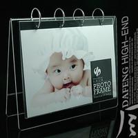 8 acrylic calendar frame fashion imitation crystal photo frame multicolor