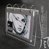 6 calendar frame acrylic imitation crystal business gift photo frame photo frame