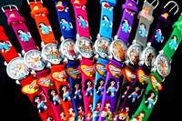 20pcs Mixed Colors Princess 3D Cartoon Children Kids Girls Students Quartz Wrist Watches, Free Shipping + Wholesale