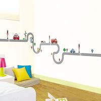Free Shipping Wall stickers boy child room decoration cartoon sticker car