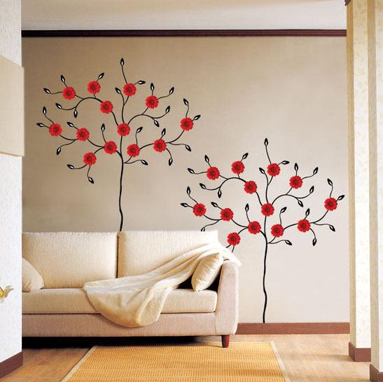 Рисуем на стене своими руками фото