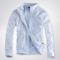 men's waterproof jacket brand splicing sport jacket coat fashion free shipping