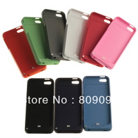 2200mAh Battery Case Charger Pack Power Bank with Back Cover for iPhone 5