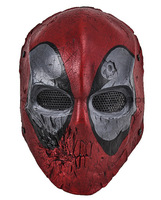 Paintball Airsoft Wire Mesh Dead Pool Army of Two Full Face Mask Free shipping