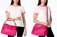 Ks three-color limited edition dual women's soft leather handbag leather