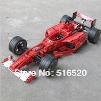 Decool 3334 Formula Racing Car 1:10 Model Building Blocks Sets 726pcs Legoland Educational DIY Bricks Toy