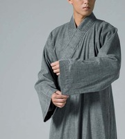Ciyuan washed cotton ---- Buddhist robes Japan washed cotton gown hem plus large YXS01-87