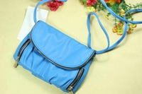 Fashion women's bags detachable suspenders multifunctional mini messenger bag zipper street casual