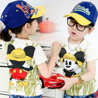 2014 Hot Sale Peppa Spiderman Roupas Meninos Free Shipping Summer Mouse Clothing Baby Child Clothes Short-sleeve T-shirt Tx-0987