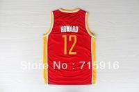 # 12 Dwight Howard retro new fabrics Fans Edition jersey and free shipping