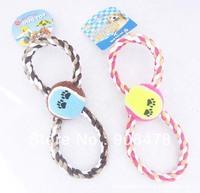 10Pcs/Lot Nylon Braided Dog Toy Dog Rope Free Shipping