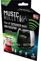 Music Bullet As Seen On TV Mini Rechargeable Speakers, New Miscellaneous  48pcs/lot