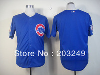 Chicago Cubs blank blue jerseys