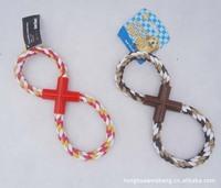 8 Style Nylon Braided Dog Training Teeth Rope Dog Toys Dog Tornado Ropes Toys 100Pcs/Lot Free Shipping