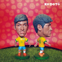KODOTO 10# NEYMAR (BRA) World Cup Football Doll (2013-2014)