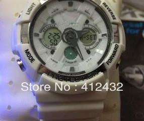free shipping Watch multifunctional electronic watch double ga-200-1adr ga200 watches p68