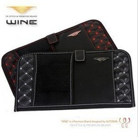 cars Red car sun visor CD folder car sun visor bag multifunction double CD package
