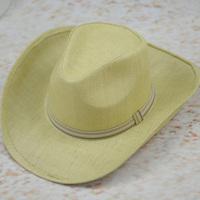 Sun beach strawhat cowboy hat large-brimmed hat summer sun-shading male hat fedoras